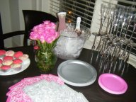 Another pic from my early days of event decor..lol We threw my friend Tanisha a Bday Surprise